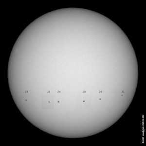 solar rotation