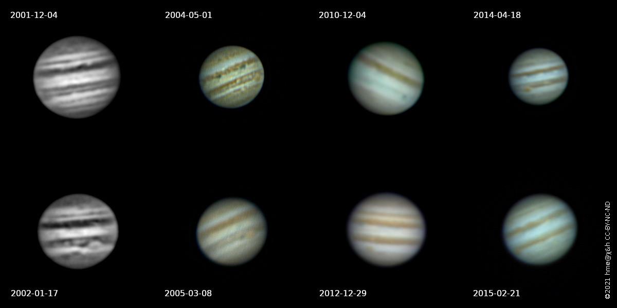 surface detail on Jupiter